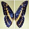 "Empire Art Direct ""Butterfly"" 2 Piece Photographic Print Plaque Set"