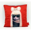 "Empire Art Direct Pets Rock™ ""GG"" Throw Pillow"
