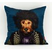 """Empire Art Direct Pets Rock™ """"Psychedelic"""" Throw Pillow"""