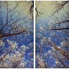"Empire Art Direct ""Winter Flowers"" 2 Piece Photographic Print Set"
