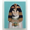 "Empire Art Direct Pets Rock™ ""Cleopatra"" Graphic Art on Wrapped Canvas"