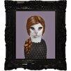 """Empire Art Direct Pets Rock™ """"Songbird"""" Framed Graphic Art"""