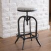 NobleHouse Gersa Swivel Adjustable Bar Stool