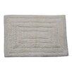 Textile Decor Castle 100% Cotton Racetrack Spray Latex Back Bath Rug