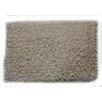 Textile Decor Castle 100% Cotton Chenille Shaggy Spray Latex Back Bath Rug