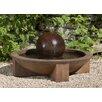 Campania International Zen Low Cast Stone Sphere Fountain