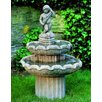 Campania International Amalfi Cast Stone 2 Tier Fountain