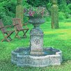 Campania International Palazzo Cast Stone Urn Fountain