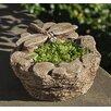 Dragonfly Cast Stone Pot Planter - Color: Verde - Campania International, Inc Planters