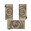 Wallflor Horizon 3 Piece Beige Area Rug Set