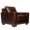 Red Barrel Studio Longacre Leather Armchair