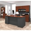 Red Barrel Studio Independence 3 Piece U-Shape Desk Office Suite