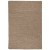 Red Barrel Studio Ommegang Hand-Woven Brown Area Rug