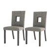 Red Barrel Studio Burgess Parsons Chair (Set of 2)