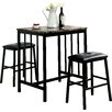 Red Barrel Studio 3 Piece Counter Height Dining Set