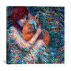 Red Barrel Studio Foxglove Graphic Art on Wrapped Canvas