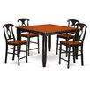 Red Barrel Studio Tamarack 5 Piece Counter Height Pub Table Set