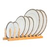 Axis International Bamboo Plate Rack