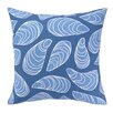 Kate Nelligan Mussels Indoor / Outdoor Throw Pillow