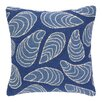 Kate Nelligan Mussels Hooked Wool Throw Pillow