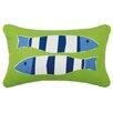 Kate Nelligan Nautical Outdoor Cotton Lumbar Pillow