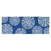Kate Nelligan Hand-Woven Blue/White Area Rug