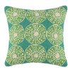 Kate Nelligan Key Lime Urchin Cotton Throw Pillow