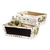 2-Piece Plywood Planter Box Set - Boston International Planters