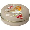 Boston International Winter Robin Tea Tin (Set of 2)