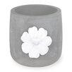 Daisy Cement Pot Planter (Set of 3) - Boston International Planters