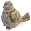 Bird Moss Statue - Boston International Garden Statues and Outdoor Accents