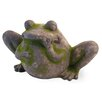 Frog Moss Statue - Boston International Garden Statues and Outdoor Accents