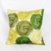 Flato Home Products Impasto Circles Throw Pillow