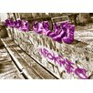 WallArt Landscapes Shoes Graphic Art in Dark Purple