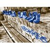 WallArt Landscapes Shoes Photographic Print in Blue