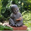 Solar Powered Buddha Boy Statue - Sintechno Inc Garden Statues and Outdoor Accents