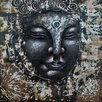 "PD Global Leinwandbild ""Buddha"", Kunstdruck"