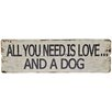PD Global All You Need Wall Plaque