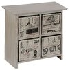 PD Global Rose Garden Chest of Drawers