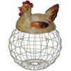 PD Global 22 cm Eierhalter Brütende Henne