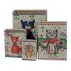 PD Global 4-tlg. Buchkassetten-Set Cats