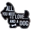 PD Global All You Need is Love Wall Plaque