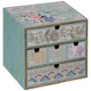 ChâteauChic Patchwork Patterned Jewellery Box