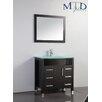 "MTD Vanities Figi 48"" Single Sink Bathroom Vanity Set with Mirror"