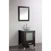 "MTD Vanities Cuba 24"" Single Sink Bathroom Vanity Set with Mirror"