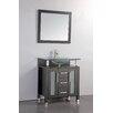 "MTD Vanities Beliza 32"" Single Sink Bathroom Vanity Set with Mirror"
