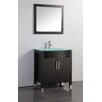 "MTD Vanities Figi 32"" Single Sink Bathroom Vanity Set with Mirror"