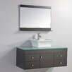 "MTD Vanities Nepal 48"" Single Sink Bathroom Vanity Set with Mirror"