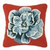 Laurel and Mayfair Vanderbilt Flower Applique Wool Throw Pillow