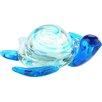 Diamond Star Glass Glass Turtle Figurine